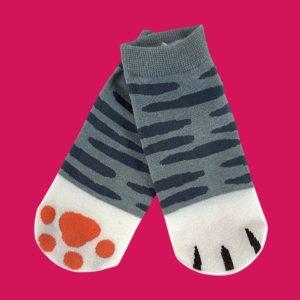 Socquettes pattes de chat