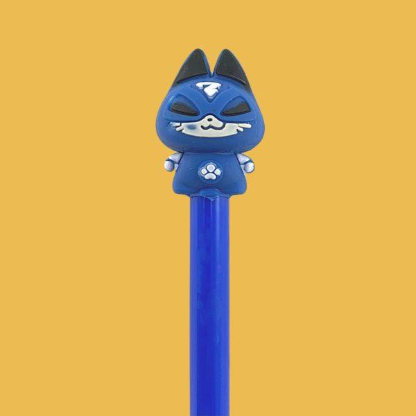 Stylo encre gel super chat héros